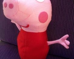 Boneco da Peppa Pig e George Pig