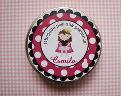 Latinha Princesinha com Confete