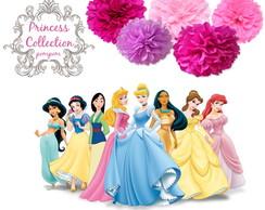 Festa PRINCESS LUXO Pompom Princesa