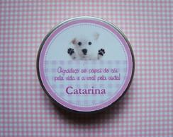 Latinha Cachorrinha com Sabonete Pezinho