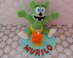 Topo de Bolo Gummy Bear - Murilo