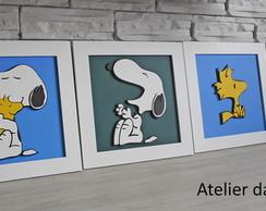Quarteto Quadrinho Baby - Snoopy