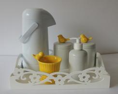 Kit Passarinho Amarelo Simples