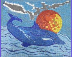 Golfinho Mosaico