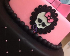 bolo biscuit monster high