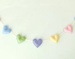 Candy Heart Varal Cord�o de Cora��es
