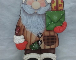 Enfeite de natal/�rvore - Papai Noel II