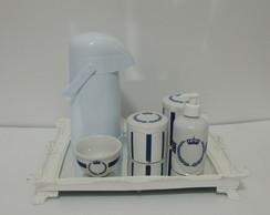 Kit Coroa Azul Marinho