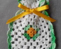 Sach� pequeno em croch�