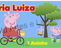 R�TULO SQUEEZE PEPPA PIG