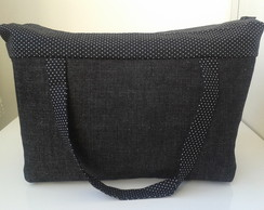 Lunch Bag T�rmica GG jeans preto