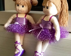 Boneca Bailarina Musical - Loira