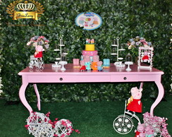 Aluguel de Decora��o Peppa Pig, 30 pe�as