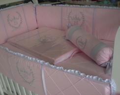 KitBer�o Menina Princesa 6 pe�as KTF-038