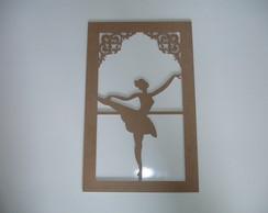 Conjunto Bailarinas - Mdf 3 Mm