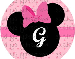R�tulo Multi-Uso MInnie Rosa