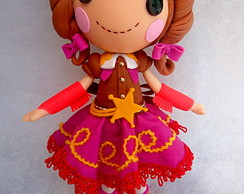 Boneca em Biscuit Lalaloopsy 30 cm