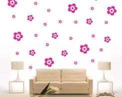 Adesivos Kit Flor com 43 Flores