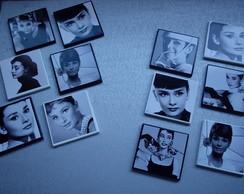 Porta copos Audrey Hepburn