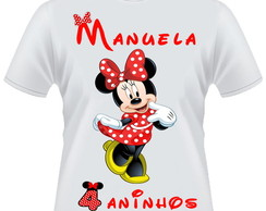 Camiseta Minnie vermelha