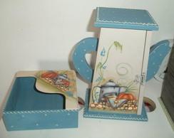 Kit Cozinha Azul