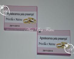 Tag Personalizado Noivado/ Casamento