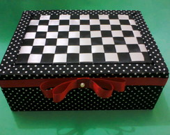 Porta-trecos xadrez