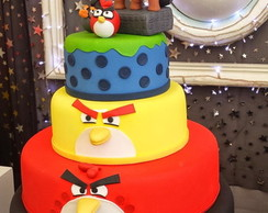 Loca��o Pe�as Decorativas Angry Birds