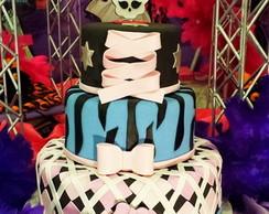Bolo Cenogr�fico Monster High (LOCA��O)