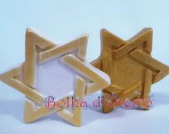 50 Sabonetes no Tule - Estrela de Davi