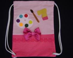 mochila infantil pintando o sete
