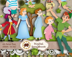 Kit Scrapbook Digital - Peter Pan