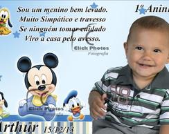 Im� de Geladeira Mickey Baby
