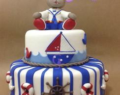 bolo urso marinheiro