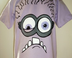 Camiseta minion roxo