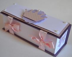 Caixa chocolate coroa scrap