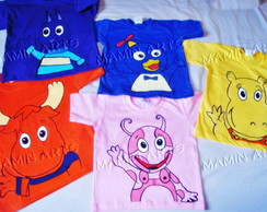 Camiseta Divertida backyardigans