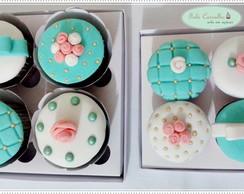 Cupcake Decorado com Pasta Americana