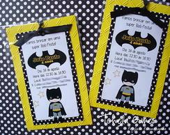Convite Marcador Batman