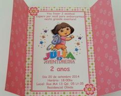 Convite Dora Aventureira