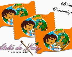 Balas Personalizadas - Go Diego Go!