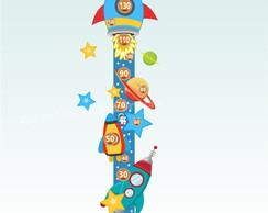 Adesivo R�gua Medidor Infantil Mod.41