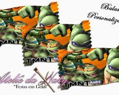 Balas Personalizadas - Tartarugas Ninjas