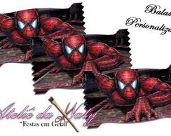 Bala Personalizada - Spiderman