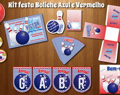 Festa BOLICHE Kit digital LUXO