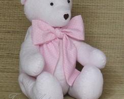 Urso de tecido*