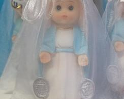 Nossa Senhora das Gra�as resina 8cm