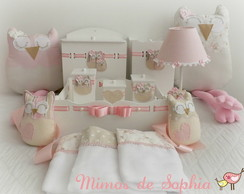 Kit decora��o Beb� Coruja
