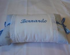 Travesseiro personalizado azul 3