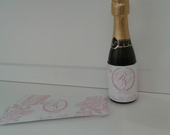 R�tulo personalizado para mini chandon